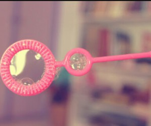 bubble, pink, and ❤ image