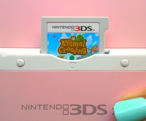 animal crossing, nintendo 3ds, and console image