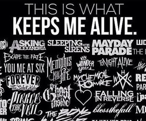 bands, forever the sickest kids, and grunge image