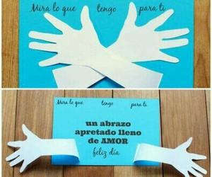 abrazo, carta, and diy image