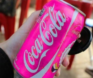 cocacola and pink image