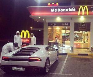 car, luxury, and McDonalds image