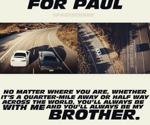 fast & furious and paul walker image