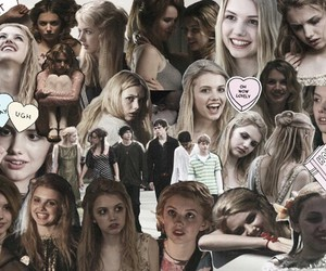 skins, cassie, and Collage image