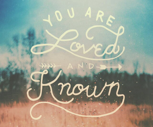 god, known, and loved image