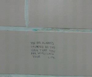quotes, life, and wall image