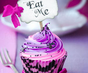 cupcake, eat me, and food image