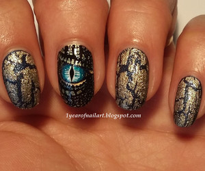 cool, dragon, and manicure image