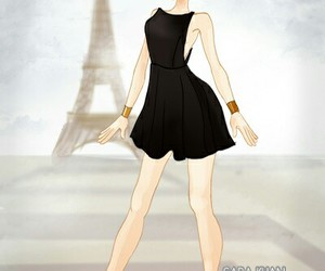 dress, fashion, and doll divine image