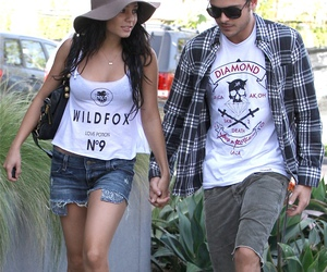 candid, celebrities, and couple image