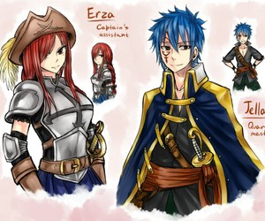 fairy tail, jellal, and jerza image