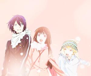 noragami, anime, and hiyori image
