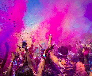 fun, color, and party image