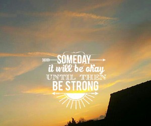 motivation, stay strong, and be kind image
