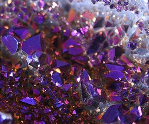 crystal, purple, and gems image