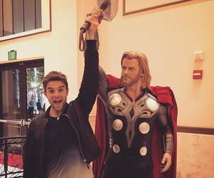 thor, the vampire diaries, and tvd image
