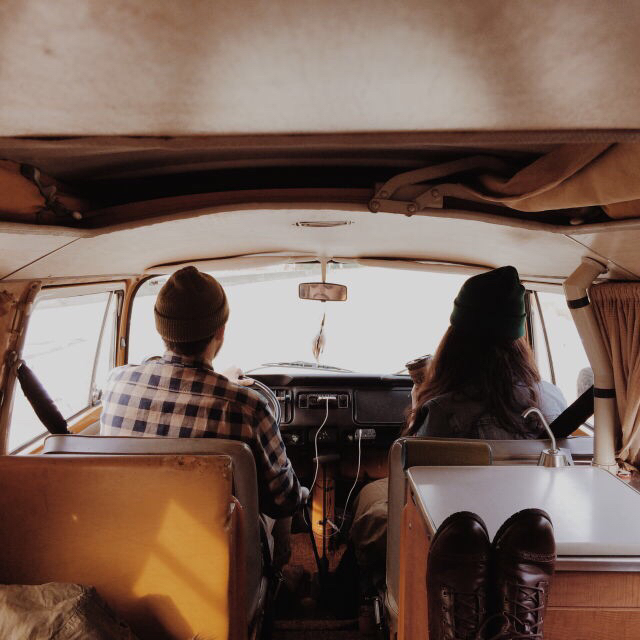 car, couple, and indie image