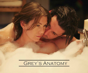 couple, derek shepherd, and love image