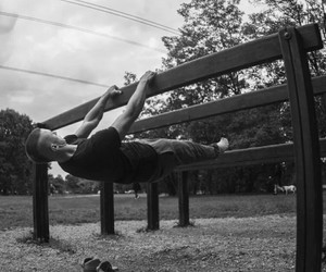 fin, workout, and calisthenics image