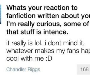fanfic, fanfiction, and the walking dead image