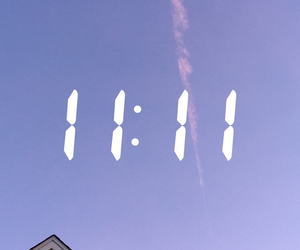 snapchat, 11:11, and blue image