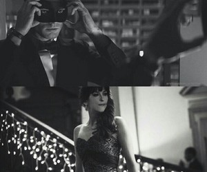 christian grey, cincuenta sombras de grey, and fifty shades darker image
