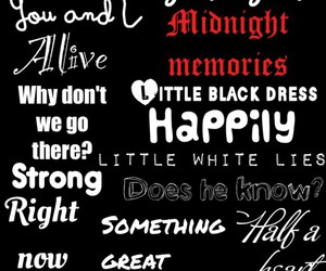 music, songs, and 1d image