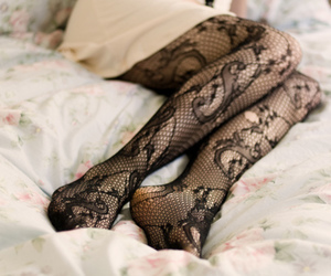 fashion, legs, and tights image