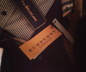 Burberry, fashion, and ralphlauren image