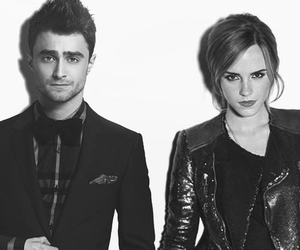emma watson, harry potter, and daniel radcliffe image