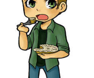 chibi, dean winchester, and supernatural image