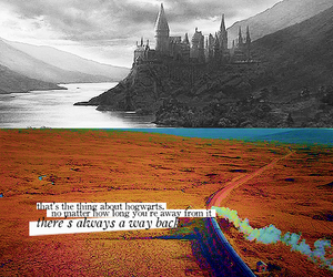 harry potter, hogwarts, and quote image