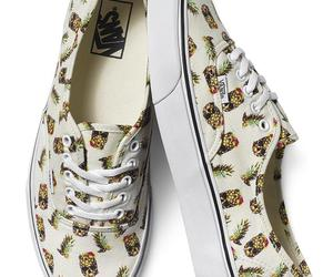 vans, pineapple, and shoes image