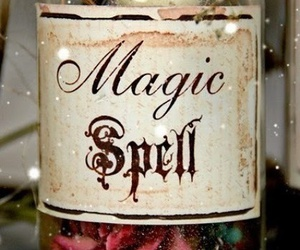 magic and spell image