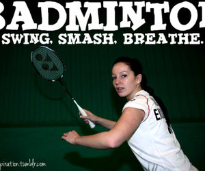 badminton, breathe, and inspiration image