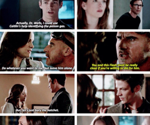 cw, barry allen, and caitlin snow image