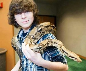 chandler riggs and bae image