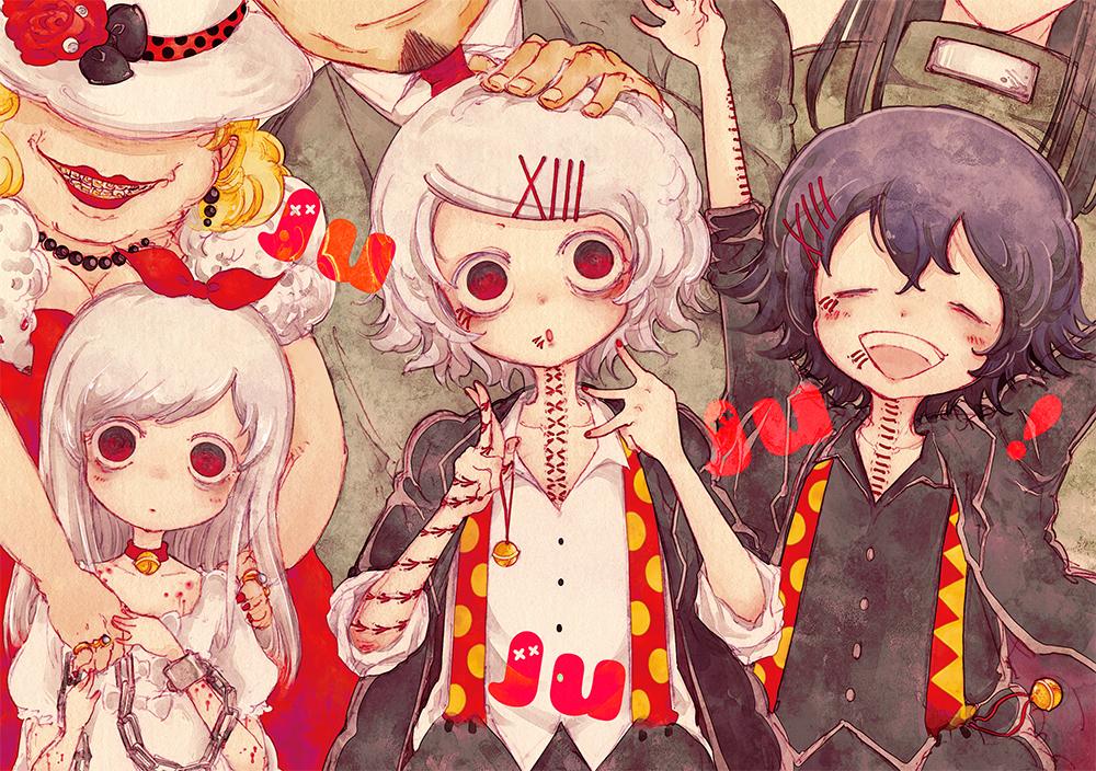 tokyo ghoul, juuzou suzuya, and anime image
