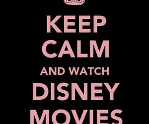 disney, keep calm, and pink image