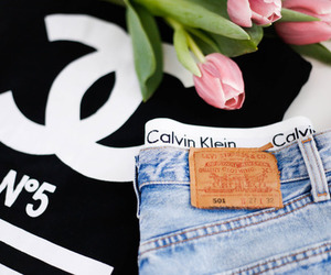 chanel, fashion, and Calvin Klein image