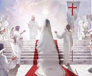 bride, jesus, and love image