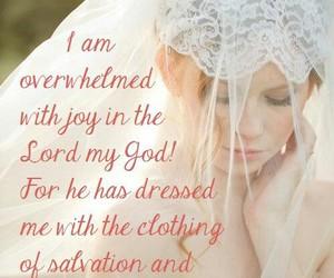 bride, joy, and faith image