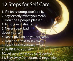 quotes, self care, and care image