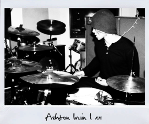 5sos and ashton irwin image