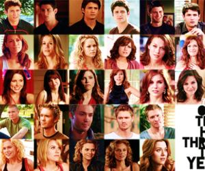 one tree hill, oth, and oth cast image