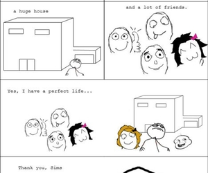 sims, forever alone, and lort¨ image