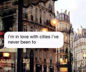 city, love, and travel image