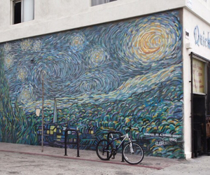 art, van gogh, and painting image