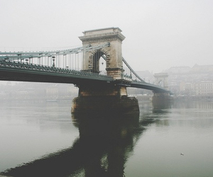 bridge, budapest, and hungary image