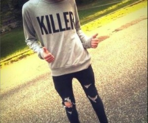 boy, killer, and vans image